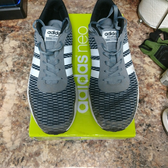 100% authentic 59293 8d22c adidas Other - Adidas NEO cloudfoam race shoes in box